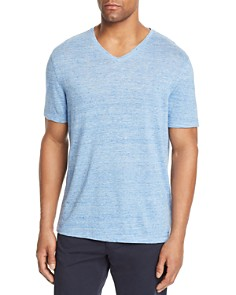 Michael Kors Space-Dyed V-Neck Tee - Bloomingdale's_0