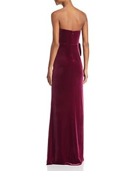 Aidan Mattox - Strapless Velvet Gown - 100% Exclusive