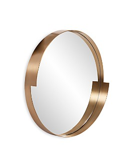 """Howard Elliott - Intrepid Round Mirror, 20"""" x 20"""""""