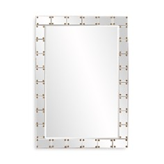 "Howard Elliott - Remington Studded Mirror, 39.5"" x 27"""