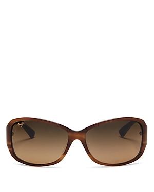 Maui Jim Women\\\'s Nalani Polarized Square Sunglasses, 61mm-Jewelry & Accessories