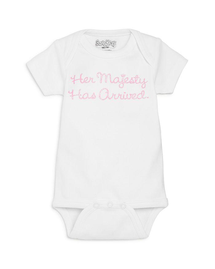 Sara Kety - Girls' Her Majesty Has Arrived Bodysuit, Baby - 100% Exclusive