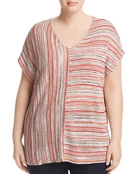NIC and ZOE Plus - Arizona Multi-Stripe Knit Top