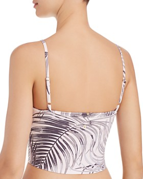Spiritual Gangster - Practice Palm Print Cropped Camisole