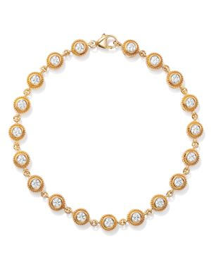 Bloomingdale's Diamond Milgrain Bezel Bracelet in 14K Yellow Gold, 1.50 ct. t.w. - 100% Exclusive