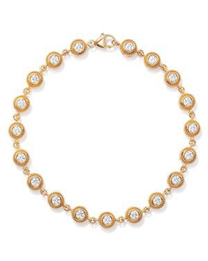 Bloomingdale's Diamond Milgrain Bezel Bracelet in 14K Yellow Gold, 1.50 ct. t.w. - 100% Exclusive