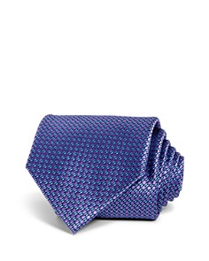 The Men's Store at Bloomingdale's Micro Geometric Classic Tie - 100% Exclusive_0
