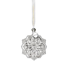 Waterford Silver Snowflake Ornament - Bloomingdale's_0