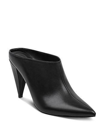 c8c024741bb4 Marc Fisher LTD. Women s Harlie Leather High-Heel Mules