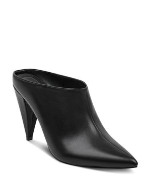 Marc Fisher Ltd. Women's Harlie Leather High-Heel Mules