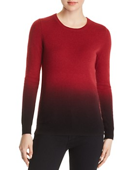 C by Bloomingdale's - Dip-Dye Cashmere Crewneck Sweater - 100% Exclusive