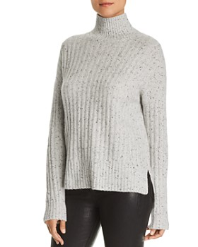 C by Bloomingdale's - Donegal Cashmere Rib-Knit Turtleneck Sweater - 100% Exclusive