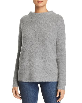 C by Bloomingdale's - Oversized Funnel-Neck Cashmere Sweater - 100% Exclusive