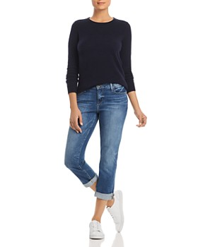 C by Bloomingdale's - Crewneck Cashmere Sweater - 100% Exclusive