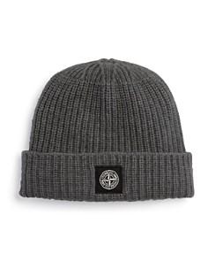 Stone Island Ribbed Wool Beanie Hat - Bloomingdale's_0