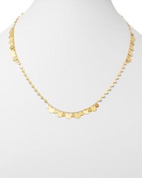"Moon & Meadow - Disc Chain Necklace in 14K Yellow Gold, 24"" - 100% Exclusive"