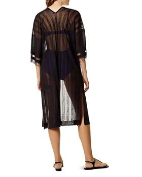 KAREN MILLEN - Striped Long Cover-Up
