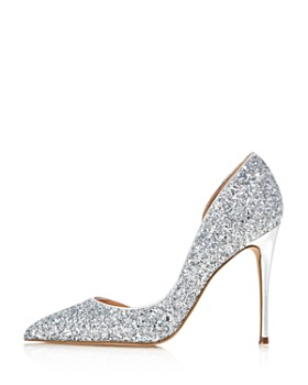 AQUA - Women's Dion Glitter Embellished High-Heel d'Orsay Pumps - 100% Exclusive