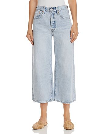 Levi's - High Water Wide Leg Jeans in Throwing Shade