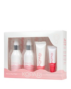 Kopari Beauty - Face the Day & Night Coconut Skin Care Essentials Kit ($50 value)