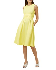 HOBBS LONDON - Twitchill Fit-and-Flare Dress