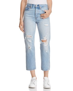 WEDGIE STRAIGHT JEANS IN BEST KEPT SECRET