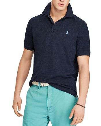 c096020c4f32 Polo Ralph Lauren - Polo Custom Slim Fit Mesh Polo Shirt