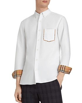 Burberry - Harry Check-Accented Regular Fit Shirt