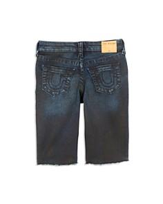 True Religion - Boys' Distressed Geno French Terry Shorts - Little Kid, Big Kid