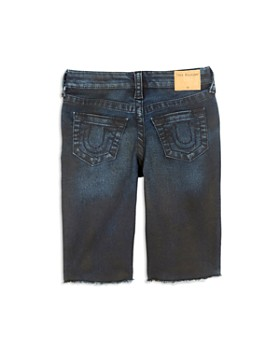 True Religion - Boys' Distressed Geno French Terry Shorts - Little Kid, Big Kid