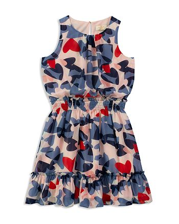 kate spade new york - Girls' Confetti Hearts Dress - Big Kid