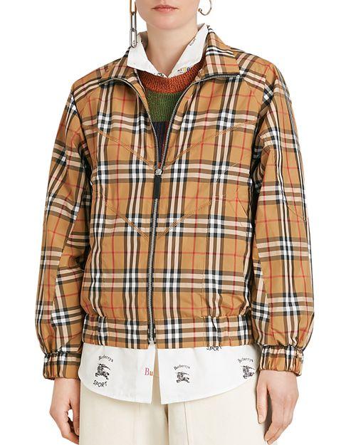 Burberry - Corfe Vintage Check Print Jacket