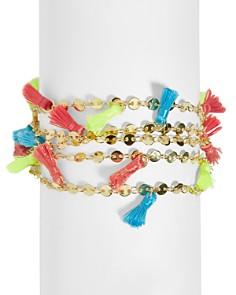 BAUBLEBAR Rica Multicolor Tassel Bracelet - Bloomingdale's_0