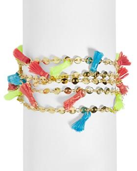 BAUBLEBAR - Rica Multicolor Tassel Bracelet