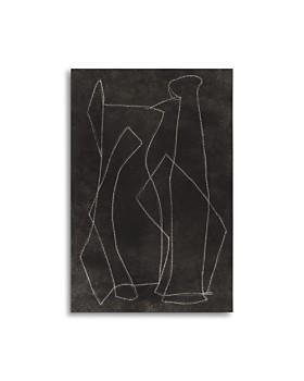 "Art Addiction Inc. - Blind Drawing #1 Wall Art, 47"" x 35"""
