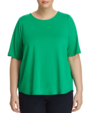 Cupio Plus Elbow-Sleeve Swing Top