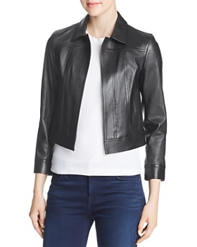 Theory - Shrunken Leather Jacket