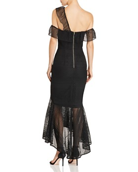 Jarlo - Cora One-Shoulder Lace Gown