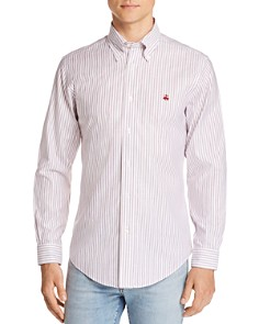 Brooks Brothers - Regent Non-Iron Striped Slim Fit Button-Down Shirt
