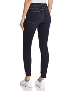 FRAME - Le High Skinny Raw-Edge Stagger Jeans in Cabana - 100% Exclusive
