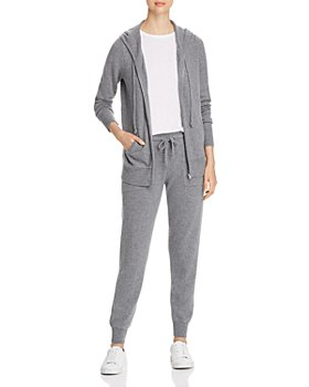 C by Bloomingdale's - Cashmere Zip Hoodie & Jogger Pants - 100% Exclusive