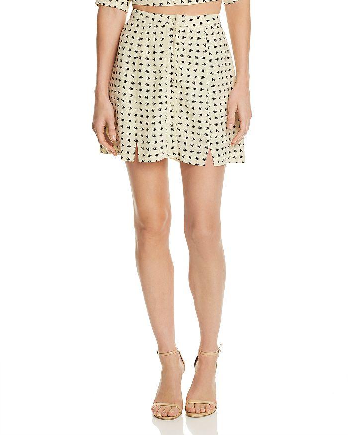 ab31cab02fe For Love   Lemons - Sweetheart Mini Skirt