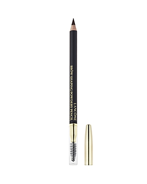 What It Is: A powder pencil that softly fills in and defines brows with quick, easy strokes. Spoolie brush at the other end helps create a neatly shaped, natural finish. What It Does: Transform barely-there brows into fuller, natural-looking arches with this brow pencil. This dual-ended pencil and spoolie brush lets you shape, shade and groom arches to give them subtle definition every time. Its ultra-soft, long-wearing formula has the look of a powder with the ease of a pencil that delivers eff
