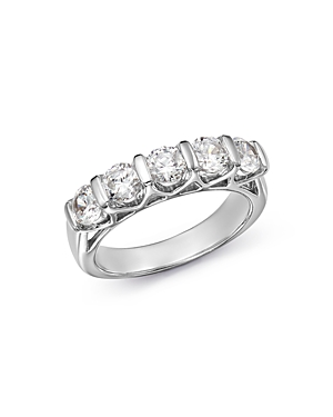 Bloomingdale's Diamond Band in 14K White Gold, 1.5 ct. t.w - 100% Exclusive