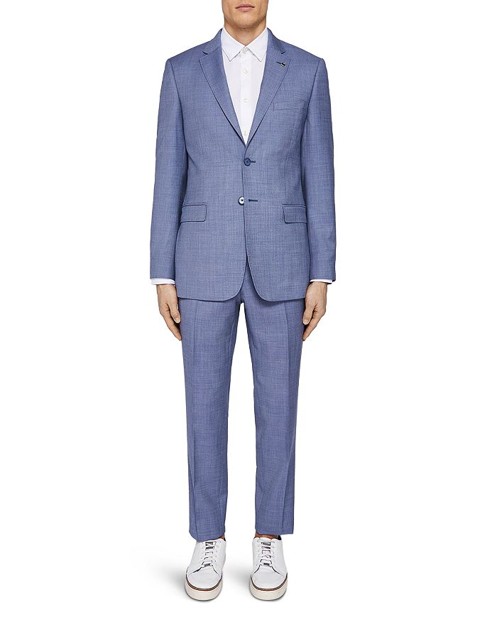 6a1fcd9ee54cf Ted Baker - Strongj Debonair Plain Slim Fit Suit Jacket