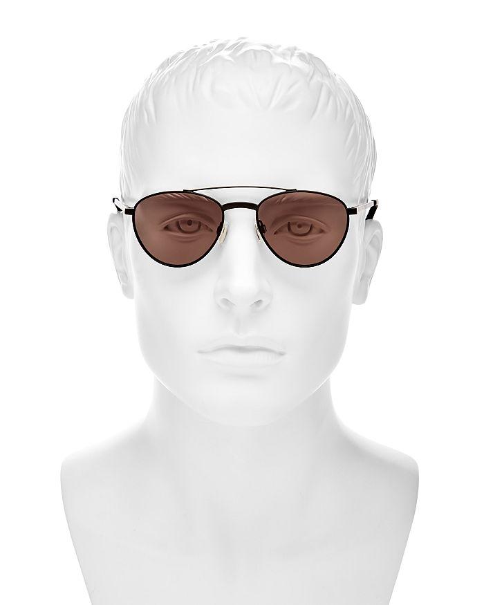 e7f02d9a1e Le Specs - Men s Rocket Man Brow Bar Round Sunglasses