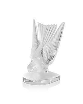 Lalique - Swallow Paperweight/Bookend