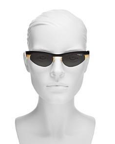 Vogue Eyewear - Gigi Hadid for Vogue Cat Eye Wrap Sunglasses, 51mm