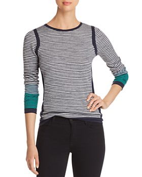 NIC and ZOE - Striped Knit Top