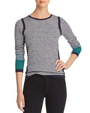 Nic+Zoe Striped Knit Top